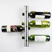 Creative Wine Rack Holders 8 12 Holes Home Bar Wall Grape Wine Bottle Display Stand Rack Suspension Storage Organizer