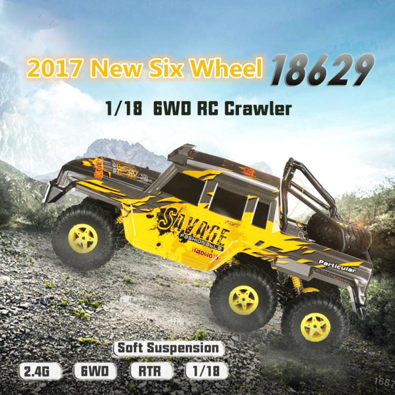 remote 2.4G 1:18 6WD 4