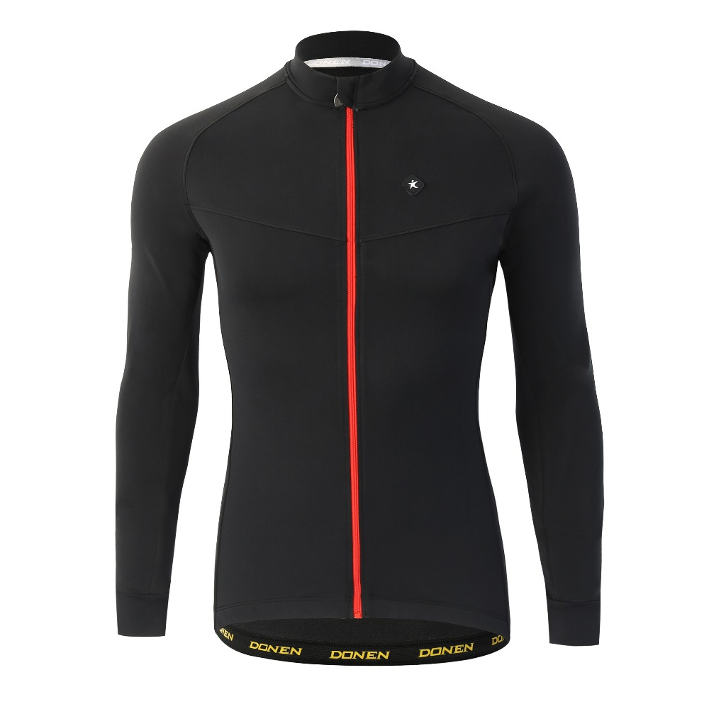 DONENE Spring Warm long sleeve cycling jersey male outdoor <font><b>bike</b></font> coat riding clothes mountain <font><b>bike</b></font> <font><b>equipment</b></font> Clothing image
