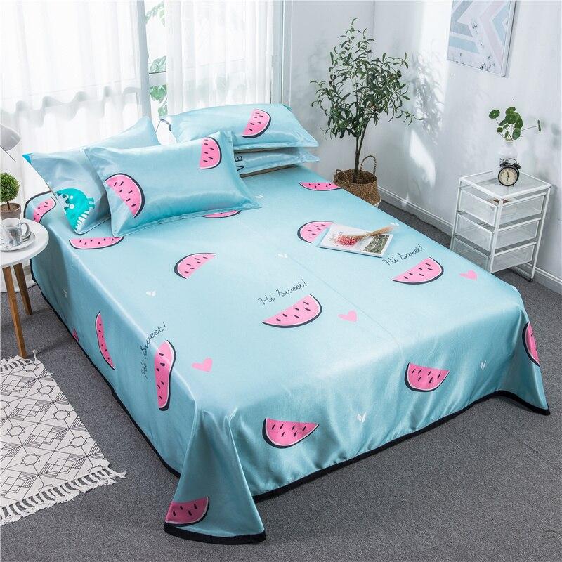 Ev ve Bahçe'ten Yatak Kılıfları ve Tutucular'de Iskandinav Yaz yatak Mat Katlanabilir yatak çarşafı Yetişkin yatak şiltesi Koruyucu Kapak Karpuz Yaz Buz Ipek Uyku Mat seti'da  Grup 1