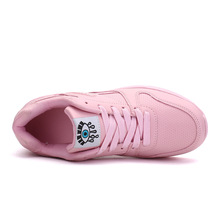 Spring Leather Casual Designer Outdoor Sneakers For Women