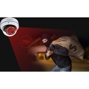 Image 3 - غادينان 5MP 3MP 2MP H.265 IP كاميرا مراقبة مراقبة الأشعة تحت الحمراء ليلة فيديو مخرب واقية في الهواء الطلق CCTV كاميرا بشكل قبة تيار مستمر 12 فولت/48 فولت PoE