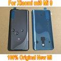 100% Новинка Xiaomi Mi 9 Mi9 M9 оригинальная стеклянная задняя крышка батарейный Корпус задняя крышка с клейкой лентой Запчасти для смартфона