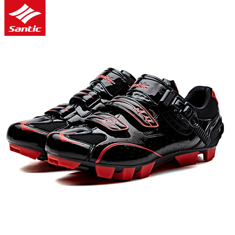 SANTIC Men's cycling shoes MTB Road Cycling Athletic Racing shoes Team Bicycle Cycling breathable shoes free shipping breathable athletic cycling shoes road bike bicycle shoes nylon tpu soles for road racing mtb eur35 39 us3 5 7