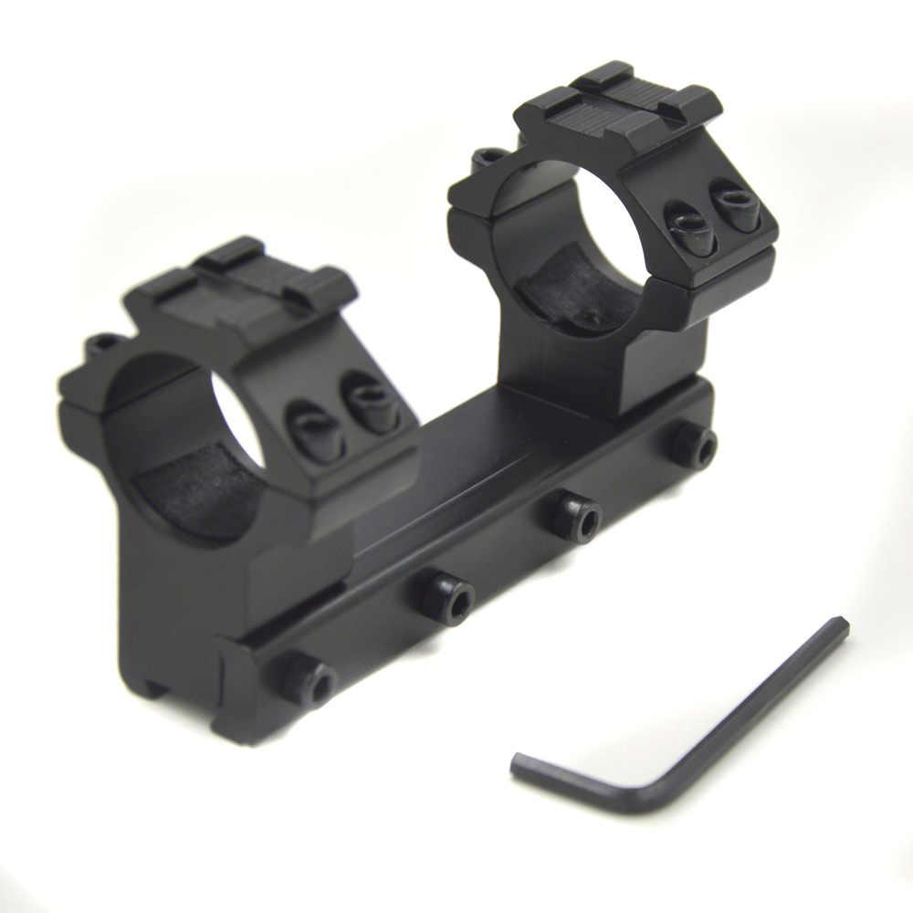 Montaje del visor del rifle AloneFire LD2002, anillo de caza total para exteriores, montaje de riel táctico de Metal de alta calidad de 25,4mm