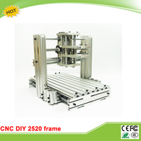 RU No Tax DIY CNC Machine 2520 Base Frame Kit For Wood Router Engraving