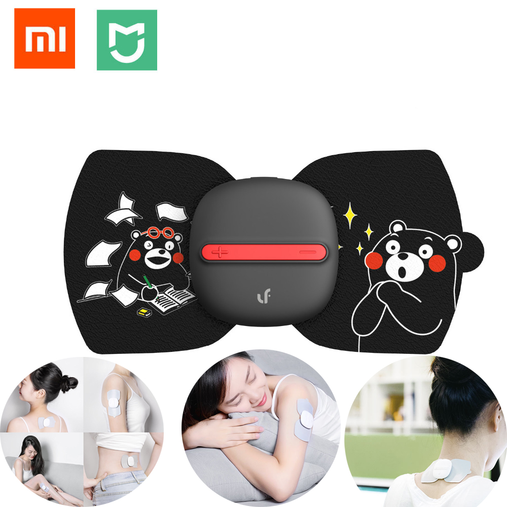 Xiaomi Mijia LF Full Body Relax Muscle Therapy Massager,Magic Touch massage Smart home stickers Kumamon Internationl version replace stick for xiaomi mijia newest lf electrical stimulator full body relax muscle therapy massager magic massage stickers