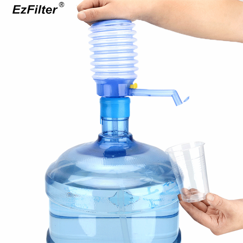 Hand Pressure Water Dispenser Pump Portable Gallon Drinking Water Bottle Switch Drinking Squeeze Switch in Water Dispenser Parts from Home Appliances