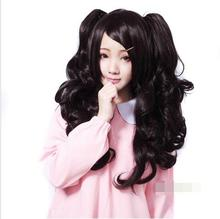 mac makeup cosplay wig ll! Long Curly Black Hair Lolita Anime Cosplay Wig + 2 Ponytail Wig