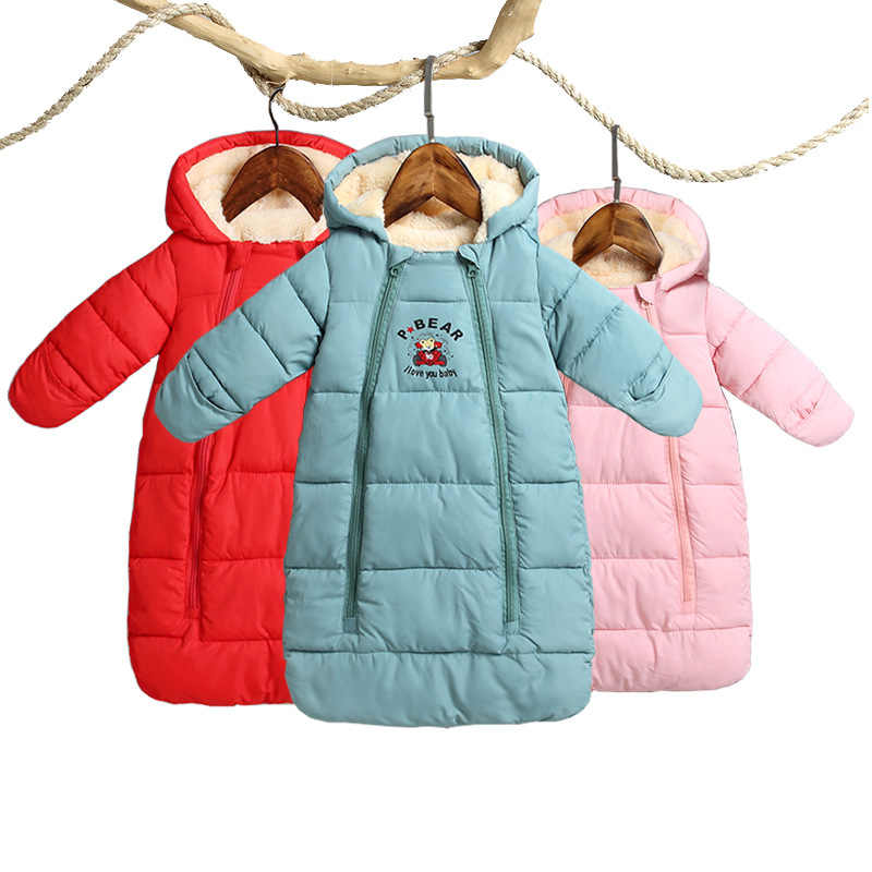 3aa34c272a38 Detail Feedback Questions about 2018 Winter Thicken Baby Rompers ...