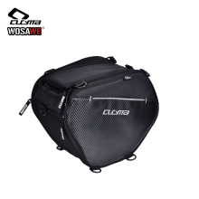 CUCYMA Motorcycle Bag Moto Front Storage Bags 20-35L Motorbike Racing Travel With Shoulder Strap Scooter Tunnel Black