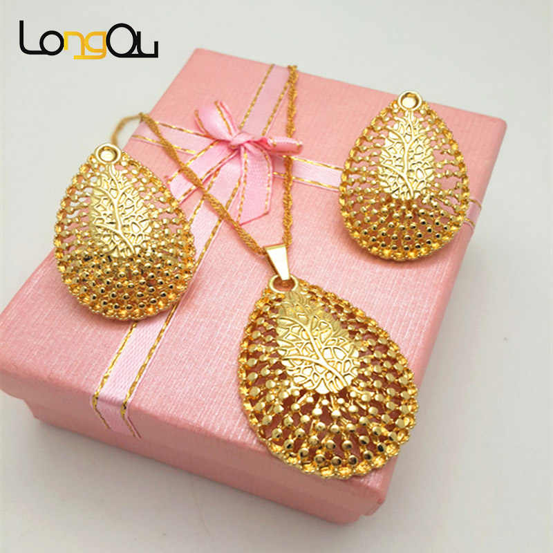 2016 Women Jewelry Sets overgild  ethiopian jewelry wedding necklaces & pendants/Earrings Set Fashion Jewelry Wholesale