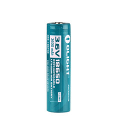 Olight ORB-186P36 3600mAh 18650 protected Li-ion rechargeable battery