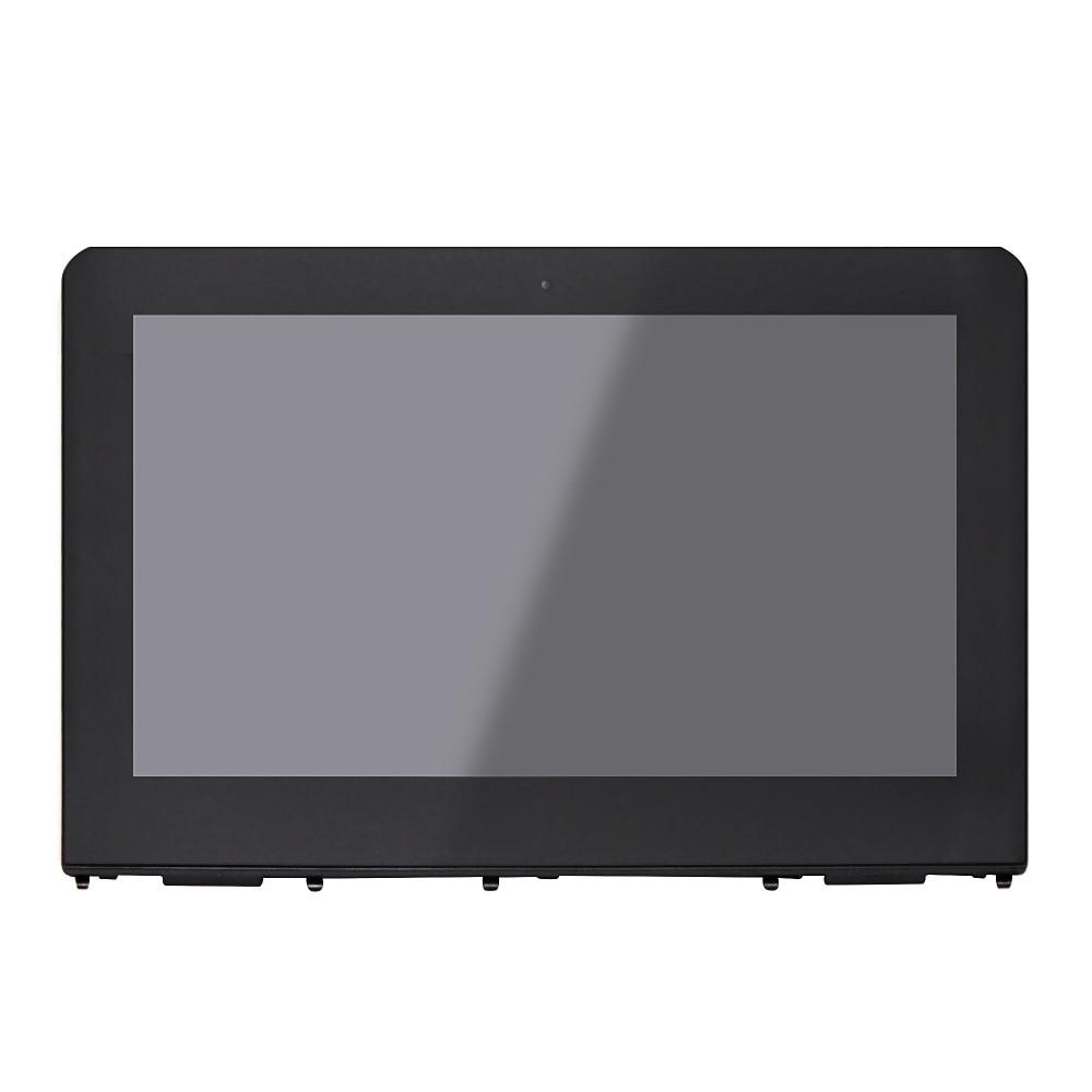 For HP x360 11-ab051nr 11-ab009la 11-ab007la 11-ab007tu 11-ab001np 11-ab001tu 11-ab001ur  Touch Digitizer LCD Screen Assembly x boxs 360 дешевле