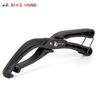 Bicicleta mão pneu alavanca talão jack alavanca ferramenta para difícil de instalar pneus de bicicleta remoção braçadeira para difícil bicicleta pneu ciclismo ferramentas|Ferramentas p/ reparo de bicicletas| |  -