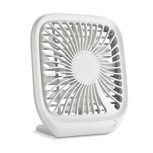 Desk Mini USB Fan Ultra Silent Portable Cooling Fan Square Table Office Stand 13 Blades Wind Generator Electric Summer Fan