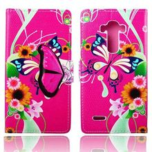 New Arrival Funny Cute Fashion Wallet Flip Style PU Leather Case For LG G4 H810 VS999 F500 Phone Bag Cover Card Holder