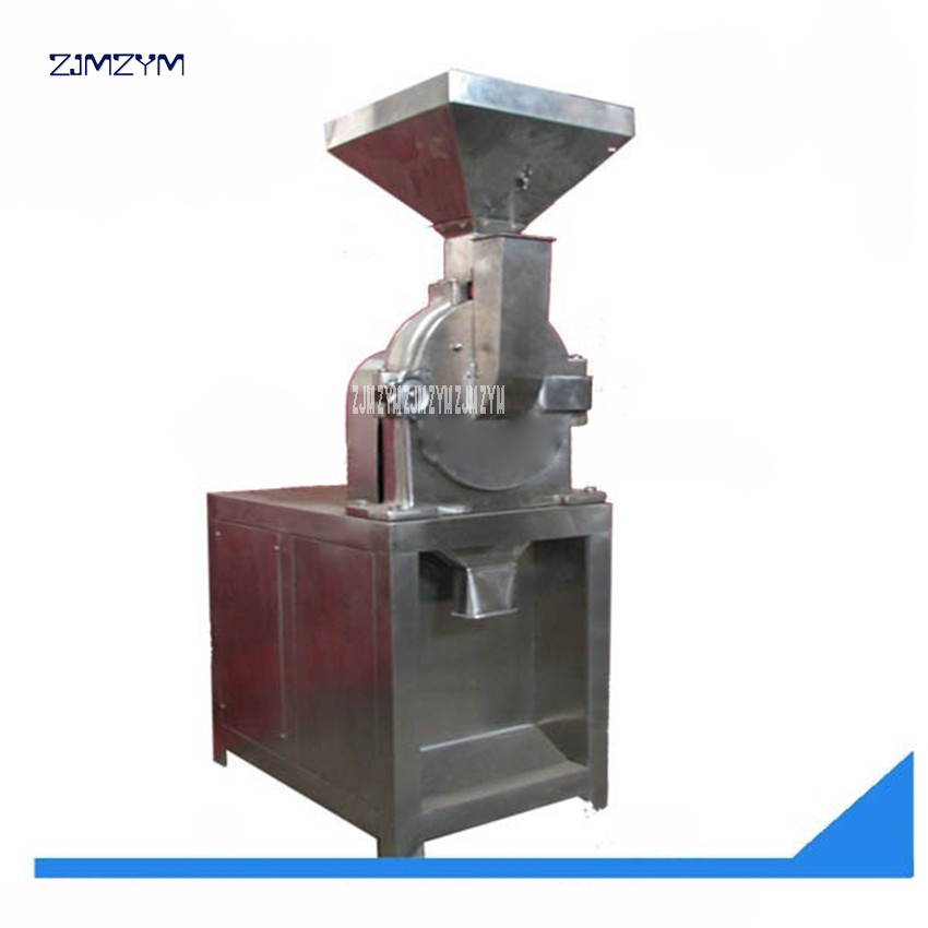 SF -200 pulverizer machine 380V 50HZ three-phase 15-20 (kg/hour) 4000(r / min) Speed grinder,Grinding degree 20-160 (mesh) 2.2KW