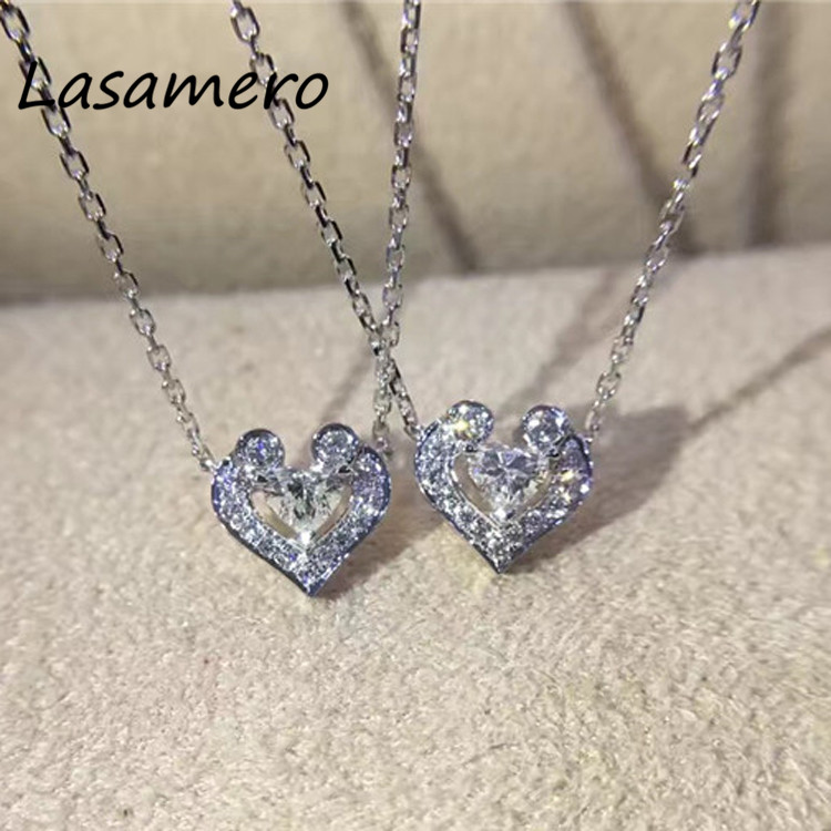Halo 0.145CTW Round Cut Pave Set 18k Gold Natural Diamond Pendant Necklace