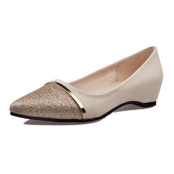 여성 플랫 패션 지적 발가락 신발 여성로 퍼 여름 패션 달콤한 플랫 캐주얼 신발 여성 zapatos mujer 플러스 크기 35-40