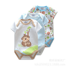 3 Pieces/lot Summer Baby Boys Romper