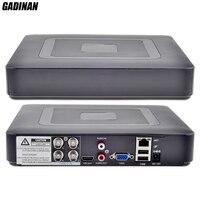 GADINAN Mini Hybrid AHDNH 1080N DVR 5 IN 1 AHDM TVI CVI CVBS 960H Security
