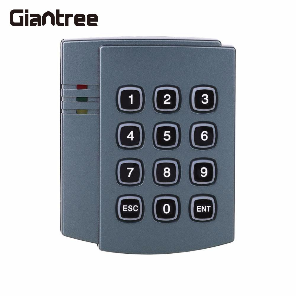 Giantree Electric Magnetic Access Control Door Lock Home Security Password Gray Plastic 125KHz EM card diysecur magnetic lock door lock 125khz rfid password keypad access control system security kit for home office