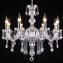 цены 8 Bulbs Modern European LED Candle Crystal Chandelier Light Lighting Lamp Modern Fixture Dining Room Living Room 38