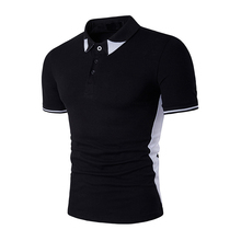 New Fashion Men Polo Shirt Brands Casual Short Sleeve Men's Cotton Polo Shirt Slim Fit Camisa Polo Homme Summer Male Top Tees стоимость