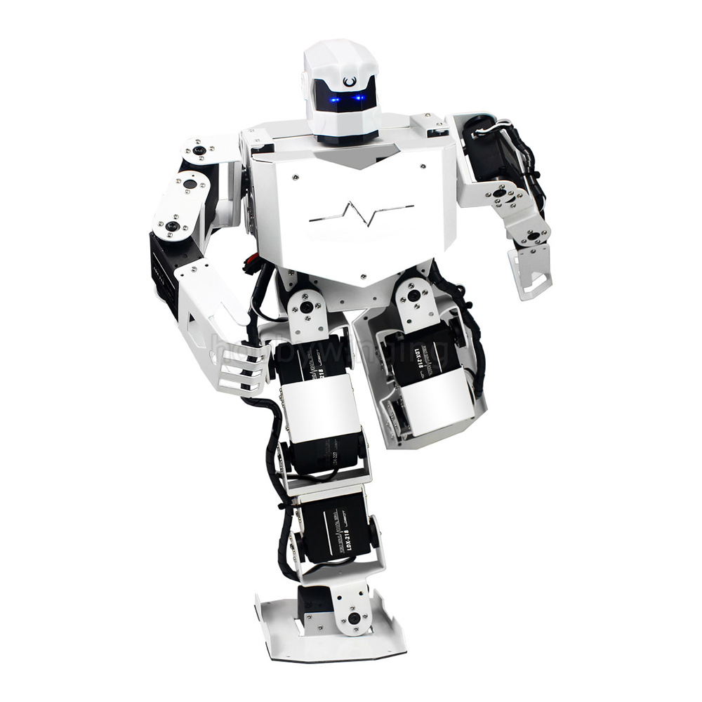 16DOF Dance Robot with MP3 High precision digital Servos all metal Contest Humanoid Bipedal Robot for Arduino robotic Education цена