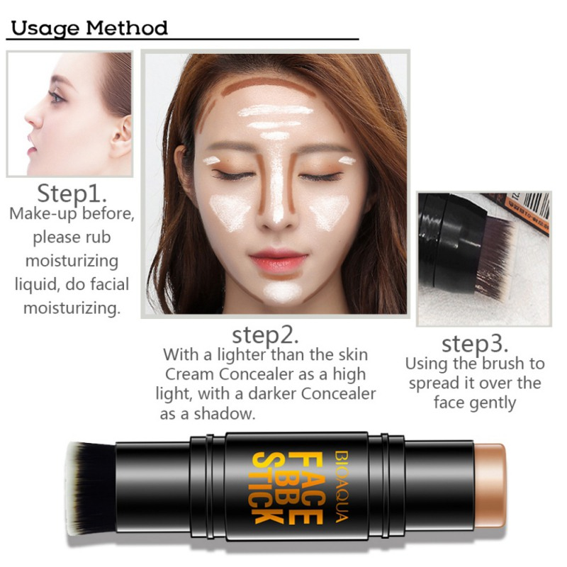 Face Care Blemish Creamy Concealer Stick Daily Facial Makeup Dark Eye Circle Hide Blemish