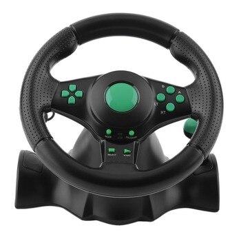 Pc Grados Pedales Ps3 Coche Rotación Ps2 Vibración De 180 Usb Xbox Para Carreras 360 Volante Con wn0O8XPk