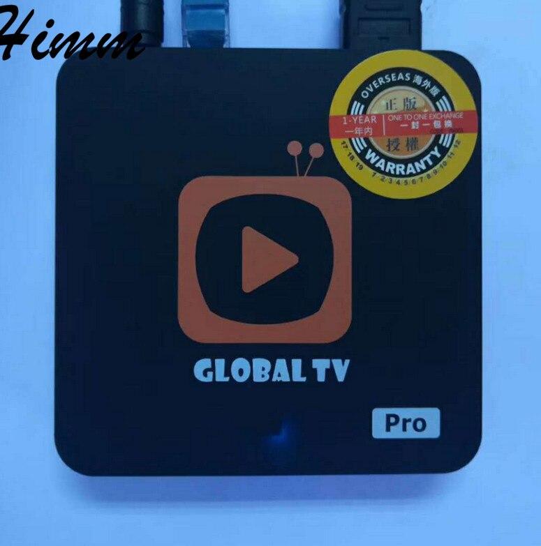 Global pro Global plus tv 1G/2GB RAM 16G ROM set top box 4K