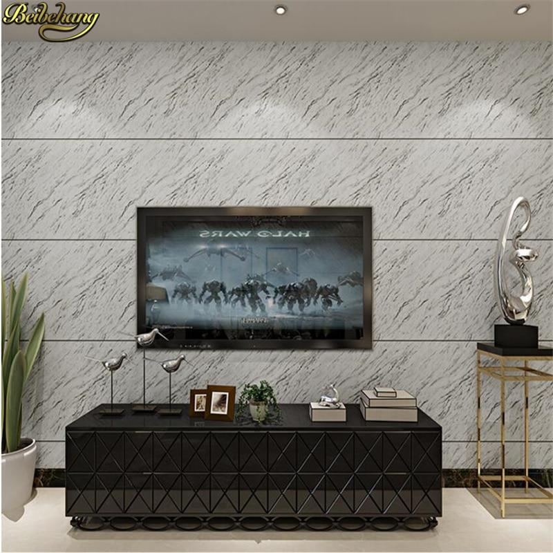 beibehang Continental marble deep embossed wallpaper tv background sofa backdrop bedroom living room backdrop papel de parede