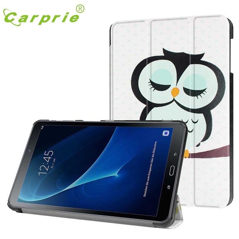 CARPRIE Flip Leather Case Cover Holder For Samsung Galaxy Tablet A T580 10.1 Inch Feb21 MotherLander