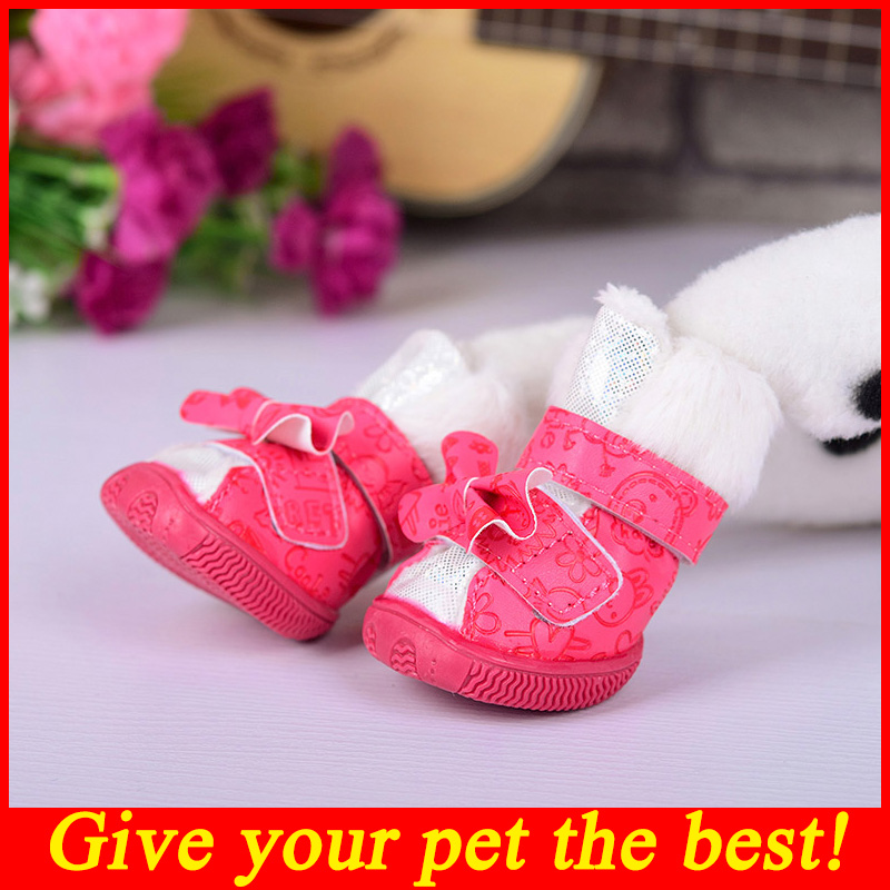 Cute Pet Shoe Puppy Dog Shoes For Small Dogs Girl Boots For Dogs