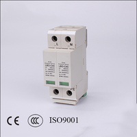 2P 20KA~40KA C ~385VAC Arrester Device LOB House Surge Protector device Protective Low Voltage