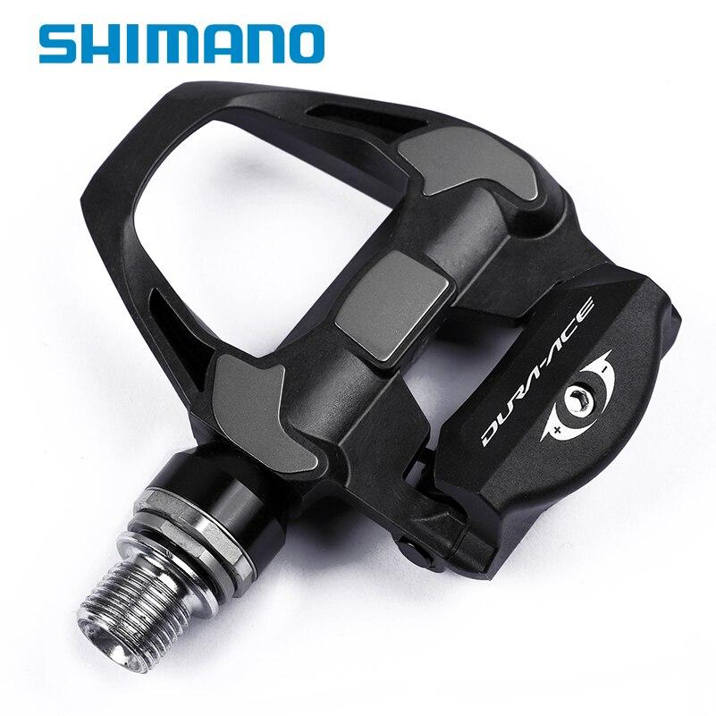 Pédales de vélo professionnel SHIMANO dura-ace PD-R9100 vélo de route auto-bloquant pédales de vélo SPD pédales de vélo légères