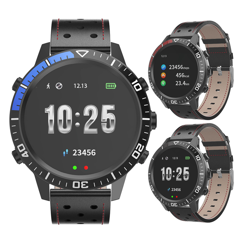 2019 New Y99 Smart sports Watch men Fitness Tracker Calories Pedometer Music Beats Smart Bracelet wristband with leather strap2019 New Y99 Smart sports Watch men Fitness Tracker Calories Pedometer Music Beats Smart Bracelet wristband with leather strap
