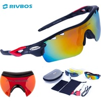 RIVBOS Oculos Ciclismo Cycling Tactical Glasses Men Women Gafas Ciclismo Bicycle Bike Sports Cycling Sunglasses Eyewear