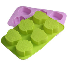 Cake Mold Soap Mold 6 Imperial Crown Flexible Silicone Mould For Candy Chocolate