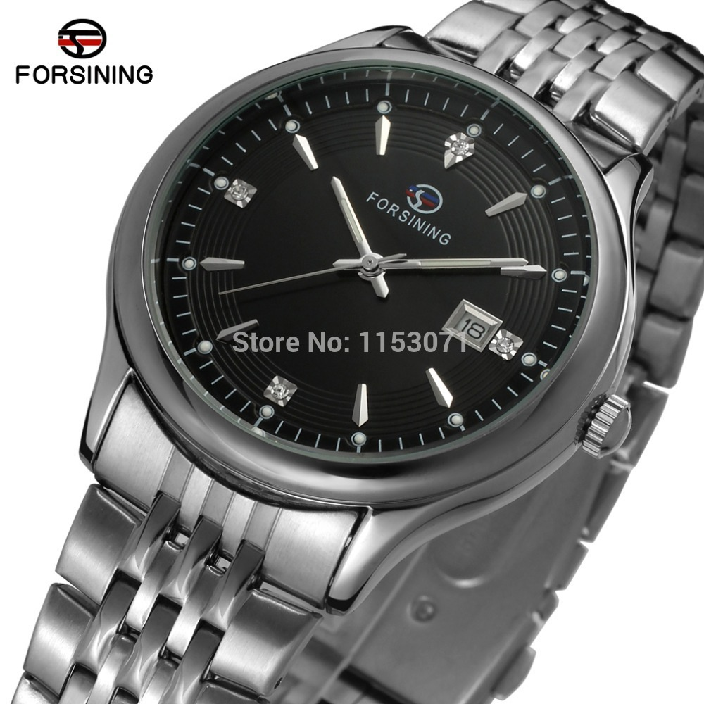FSG8088Q4S2 new quartz stainless steel bracelet watch with with silver color bars index classic quartz watch free shipping цена