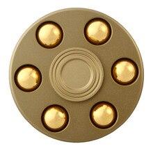 ทองปืนGyroรอบล้อนิ้วรูปร่างปินเนอร์อยู่ไม่สุขโลหะEDCมือสำหรับออทิสติก/สมาธิสั้นความวิตกกังวลความเครียดบรรเทาโฟกัสของขวัญของเล่น