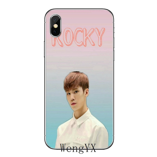 Astro kpop coreanos boy slim de accesorios de la cubierta del teléfono para Apple iPhone X XR XS Max 8 7 6 6 s 6 plus SE 5S 5c 5 4S 4