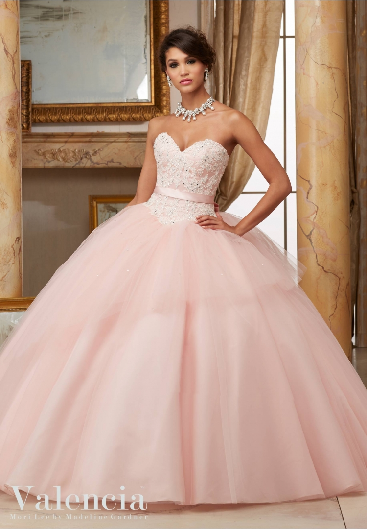 Aliexpress.com : Buy Lovely Light Pink Quinceanera Dresses With ...