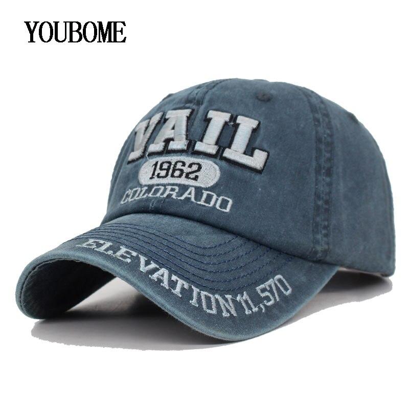 Мужская бейсболка YOUBOME, винтажная бейсболка с надписью Мужские бейсболки      АлиЭкспресс