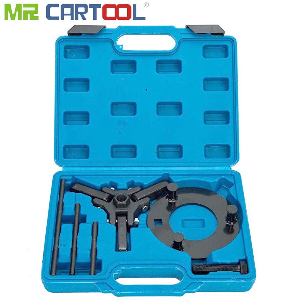 Extracteur de poulie à amortisseur harmonique ensemble de 6 pièces pour véhicule Chrysler GM Mitsubishi