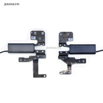 JIANGLUN LCD Screen Hinge Set For Lenovo Yoga 730-13IKB Silver color