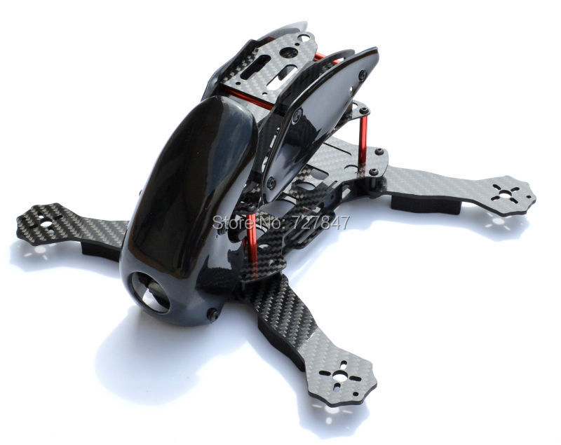 robocat 270mm robocat 270 4 axis full carbon fiber racing mini quadcopter frame with hood