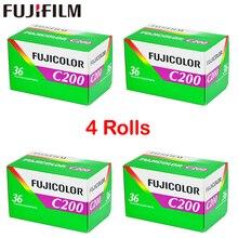 4 لفة/مجموعة Fujifilm C200 اللون 35 مللي متر فيلم 36 التعرض ل 135 تنسيق كاميرا Lomo Holga 135 BC Lomo كاميرا مخصصة